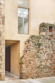 100 Modern Stone Walls ArquitecturaG Builds Modern House Behind Crumbling Old