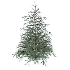 Artificial Cedar Trees 8 Foot Cedar Tree Unlit From Artificial