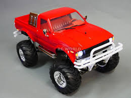 100 Toyota Pickup Truck Models RC 110 Scale TRUCK PICKUP Bruiser Clone 4X4 RC TRUCK 2 Speed RTR RED