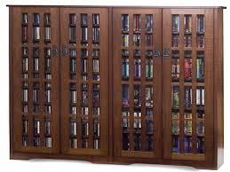 Leslie Dame Sliding Door Media Cabinet by Dvd Storage Cabinet Amazoncom Leslie Dame Ms700es Mission