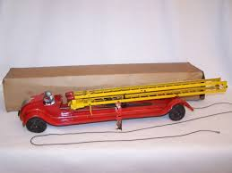 100 Antique Toy Fire Trucks Windup Tin Vintage Antique Toy Toycollecting Diecast