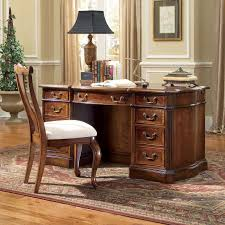 Hooker Knee Hole Bowfront Writing puter Desk Cherry