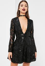 black and gold long sleeve sequin dress dress style