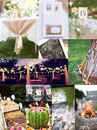 Backyard Wedding Reception Ideas Best Of Collection Gorgeous Rustic Outdoor Small