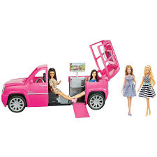 Barbie Limo Fashionista Giftset With 4 Dolls