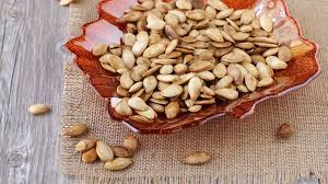 Toasting Pumpkin Seeds In The Oven by Perfect Crispy Toasted Pumpkin Seeds Recipe Genius Kitchen