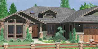 Dazzling Design Ideas One Story Rustic Ranch House Plans 4 American Style Home