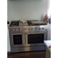Thor Kitchen 48 inch Stainless Steel Professional Gas Range with 6 burners and Griddle