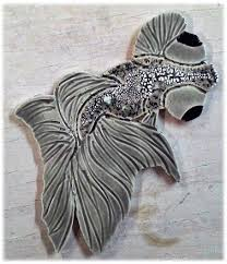 decorative ceramic tile made tiles in koi tiles goldfish