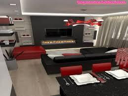 Living Room Ideas Red Black And White Centerfieldbar Com