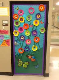 Lovely Spring Classroom Door Decorations With Best Teacher Bulletin Boards More Board Printable