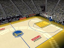 Golden State Warriors Court Patch
