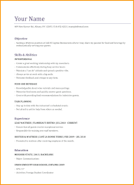 Waitress Resume Cover Letter 12751650 Responsibilities Of A Cocktail Example Free