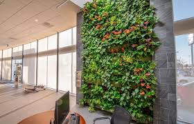 LiveWall Green Wall Helps Subaru Pacific Go Green