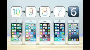 iOS 10 vs iOS 9 vs iOS 8 vs iOS 7 vs iOS 6 on iPhone 5 Speed Test