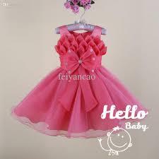2017 wholesale baby frock designs vestido infant princess