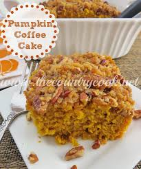 Pumpkin Pie Coffee Cake The Country Cook