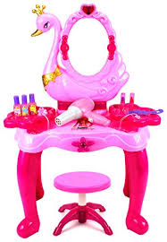 Vanity Dresser Set Accessories by Beauty Swan Dresser Pretend Play Battery Operated Toy Beauty