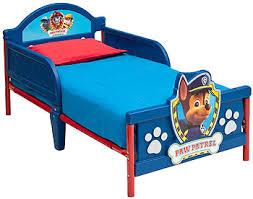 nickelodeon paw patrol 3d toddler bed toys r us