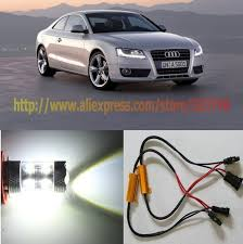 free shipping 2x 50w xenon white resistors no error h11 cree led