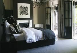 meuble de chambre design chambre designe avec meubles noir deco maison moderne