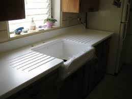 Farmhouse Sink With Drainboard And Backsplash by What Are You Working On The Fabricator Network Forum