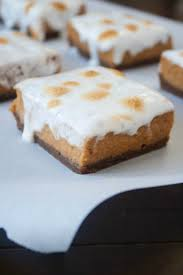 Epicurious Pumpkin Pie by Marshmallow Pumpkin Pie Bars With Gingersnap Crust