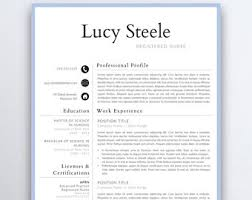 How To Write A Nursing Resume by Resume Etsy