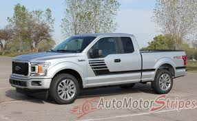 100 Special Edition Ford Trucks 20152019 F150 Decals SW Lead Foot Stripes Graphics