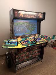 Mortal Kombat Arcade Cabinet Plans by Man Cave Arcade