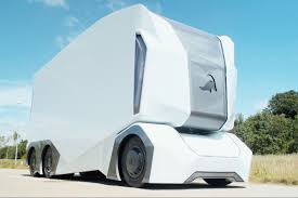 100 Trucks Images This Selfdriving Truck Has No Room For A Human Driver Literally