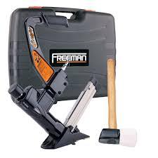 Wood Floor Nailer Gun by Freeman Pfl618br 3 In 1 Pneumatic Flooring Nailer Power Flooring