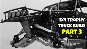 100 How To Build A Trophy Truck Custom 4x4 Part 3 Front BumperLights Body