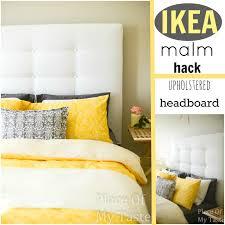 King Size Headboard Ikea Uk by Ikea Hacks A Diy Upholstered Malm Headboard