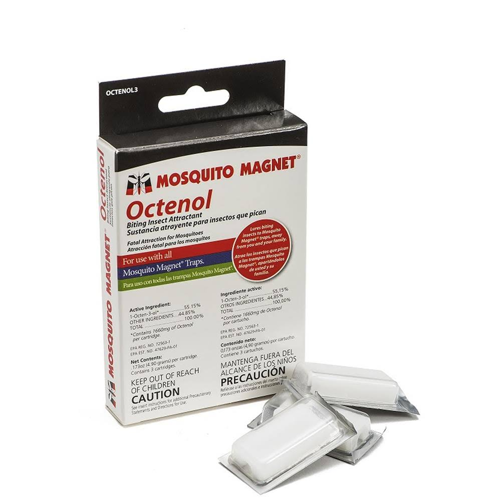 Mosquito Magnet Octenol Biting Insect Attractant - 3 Pack