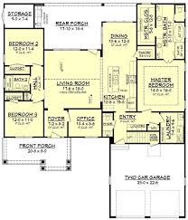 Craftsman Style Floor Plans by 37 Best House Plans Images On Pinterest Craftsman Floor Plans