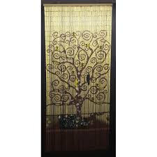 Glass Bead Curtains For Doorways by Curtains Bamboo Curtain Bamboo Beaded Curtains For Doors