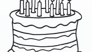 750x425 Cake Black And White Happy Birthday Cake Clipart Black And White