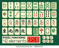 Mahjong Tiles Free Vector Download Free Vector Art Stock