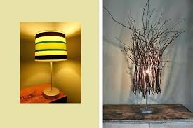 Diy Lamp Shades Ideas Projects Idea Of Twig Shade Base Target Lamps Bronze Tutorial Rustic