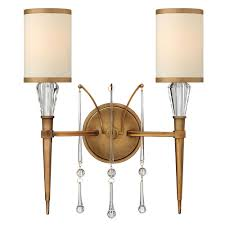 buy the bentley 2 light wall sconce by hinkley lighting