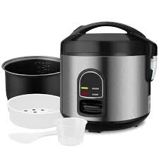 Amazoncom Mini Rice Cooker Steamer Small 5cup Uncooked Rice