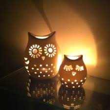 Owl candle Holder Candle Holders