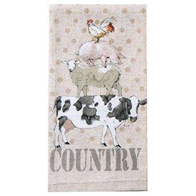 Kay Dee Designs R3250 Farm Life Animals Terry Towel