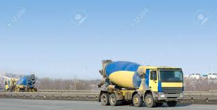 100 Directions For Trucks Two Identical Yellow Concrete Mixer Drive In Different