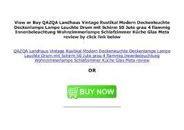 qazqa landhaus vintage rustikal modern deckenleuchte