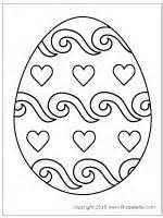 Printable Easter Egg Pattern
