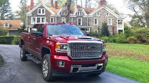 The 2018 GMC Sierra 2500HD Denali Is A Workhorse That Doubles As A ... Gmc Truck W61 370 Heavy Duty Sierra Hd News And Reviews Motor1com Pickups From Upgraded For 2016 Farm Industry Used 2013 2500hd Sale Pricing Features Edmunds 2017 Powerful Diesel Heavy Duty Pickup Trucks 2018 New 3500hd 4wd Crew Cab Long Box At Banks Lighthouse Buick Is A Morton Dealer New Car Allterrain Concept Auto Shows Car Driver Blog Engineers Are Never Satisfied 2015 3500 Beats Ford F350 Ram In Towing