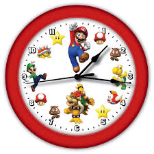 Super Mario Question Block Lamp Ebay by Super Mario Brothers Game Wall Clock Red Frame Boy