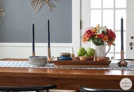 Dining Room Table Centerpiece Ideas by Colorful Winter Decor Ideas